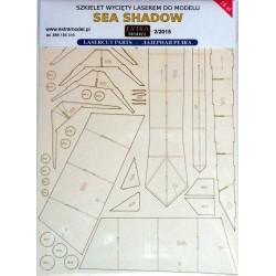 Sea Shadow - laser cut