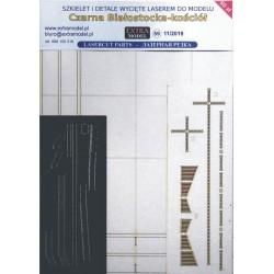Czarna Białostocka - laser cut