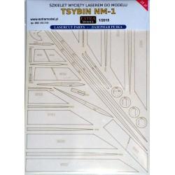 Tsybin NM-1 - laser cut