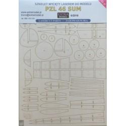 PZL 46 Sum - laser cut