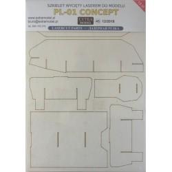 PL01 Concept - laser cut